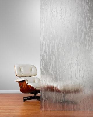 Strukturplatten aus Kunststoff - selbst die beeindruckendsten Bilder nur annähernd die wahre Optik des Materials darstellen.