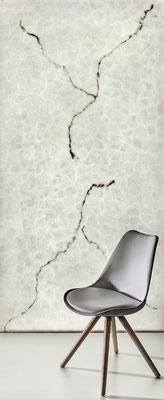Alabaster Stone - 2 Adern - Ansicht, hinterleuchtet