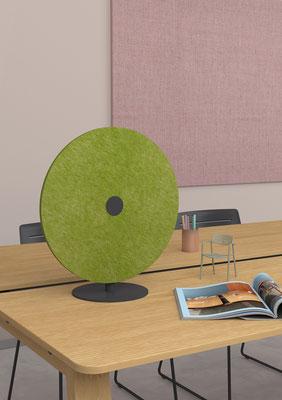 Die Akustiklösung für den Arbeitsplatz, einfach, schön und günstig.