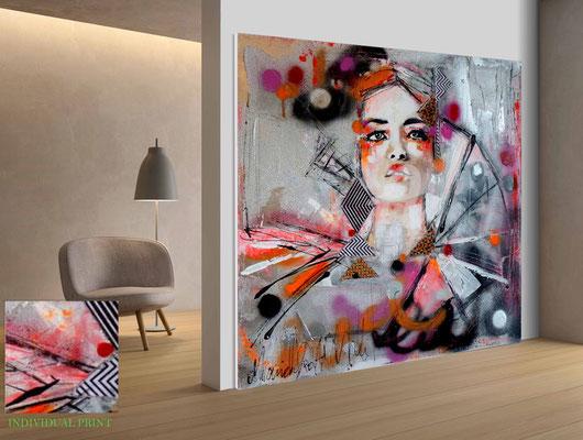 Akustikbild, Deckenpaneel, Raumteiler - Graffiti  und Akustik? Design meets acoustic.