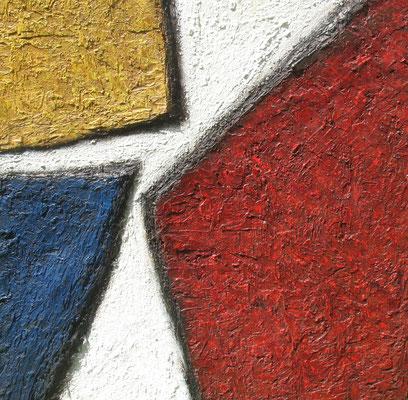 Rencontres (Begegnungen), 100 x 100 cm