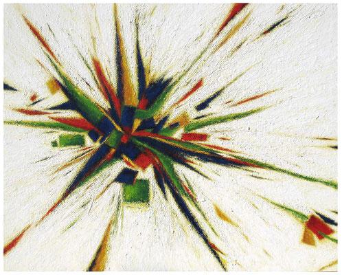 Explosion, 130 x 162 cm