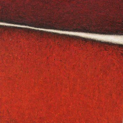 Interstice (Zwischenraum), 100 x 100 cm