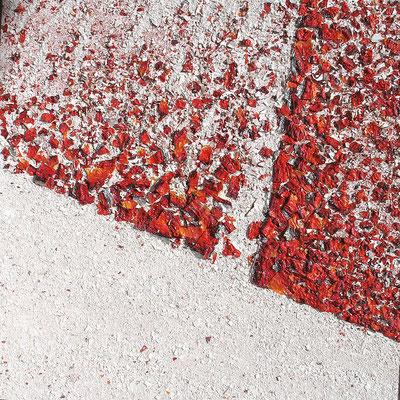 Événement (Vorkommnis), 100 x 100 cm