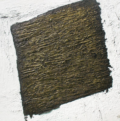 Trace / Spur  150 x 150 cm // Trace  4,92 x 4,92 ft