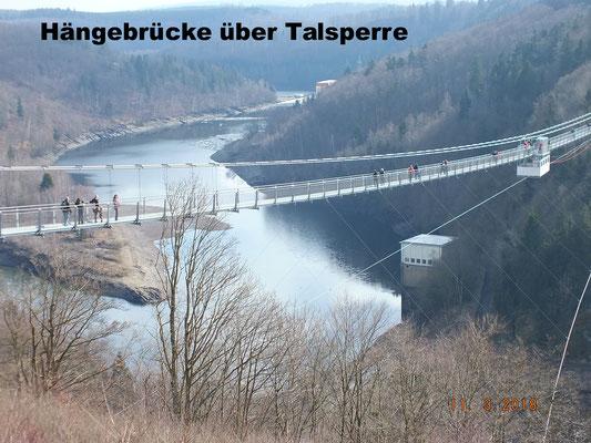 Längste Hängebrücke ihrer Art weltweit