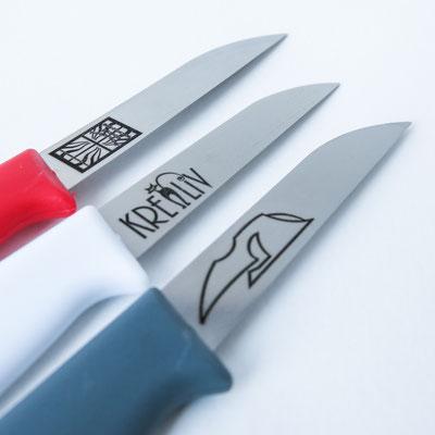 Messer mit deinem Logo