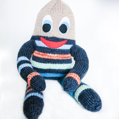 """5 - Handgestrickte Puppe: Manndli """"Ei"""" noch zu verkaufen"""