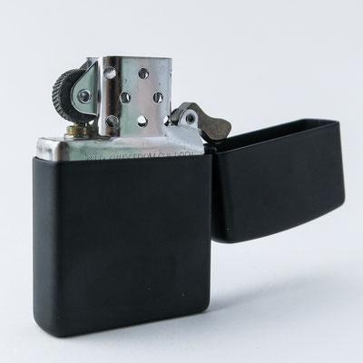 Original Zippo zum Laserbeschriften: matt schwarz