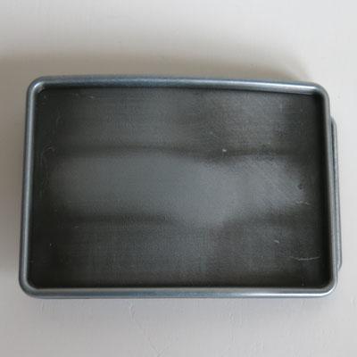 Gürtelschnalle für 4cm breite Gürtel - rechteckig 8,9x6,4cm