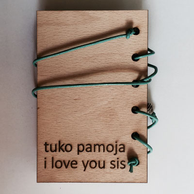 Unique Kalender mit Holzcover Lasercut
