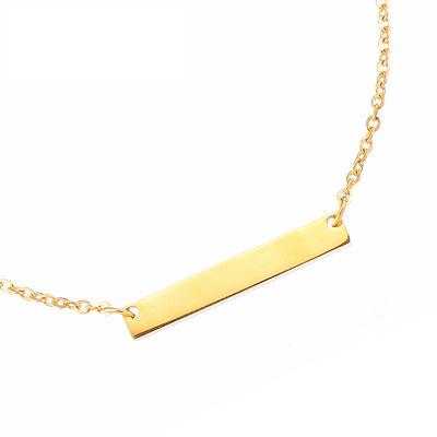 Babyarmband gold mit Name Gravur