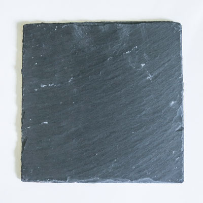 Schiefer Quadrat - 20x20, 15x15cm und 10x10cm