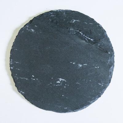 Schiefer Kreis - Ø 23,5cm, Ø 15cm und Ø 10cm
