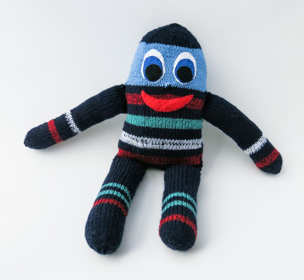 """1 - Handgestrickte Puppe: Manndli """"Ei"""" noch zu verkaufen"""