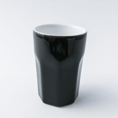Caffè ti amo: Becher für Espresso oder Kaffee, schwarz - dishwasher proof - 8,2cm hoch