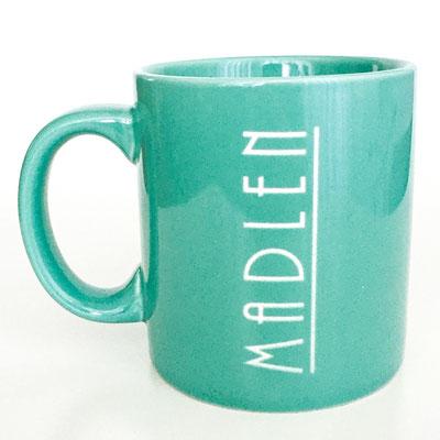 Tasse mit persönlicher Lasergravur Namen