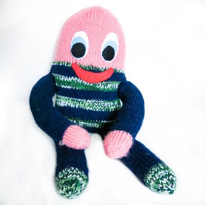 """2 - Handgestrickte Puppe: Manndli """"Ei"""" noch zu verkaufen"""