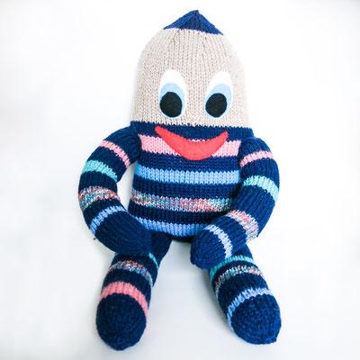 """4- -Handgestrickte Puppe: Manndli """"Ei"""" noch zu verkaufen"""