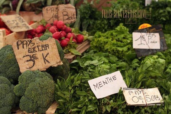 Gemüsemarkt in Südfrankreich