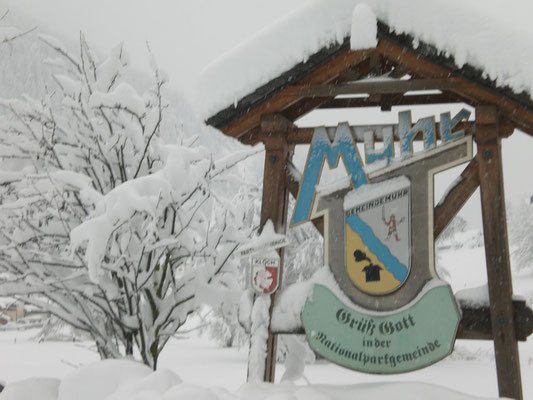 Muhr - Grüß Gott in der Nationalparkgemeinde