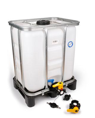 IBC Container und Kupplung