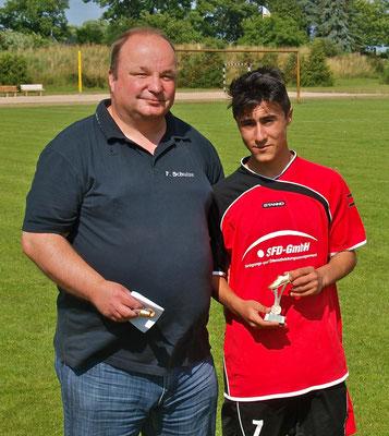 C-Jugend St. 1: Mohamed Melek (20 Tore), 1. FC Oebisfelde