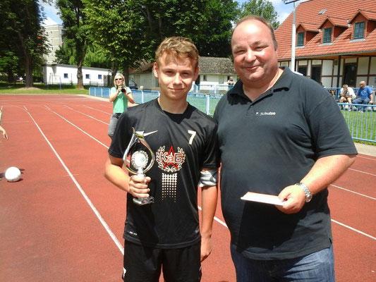 C-Jugend St 1: Pascal Buhut, 35 Tore