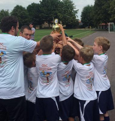 F-Jugend Pokalsieger:  OSC