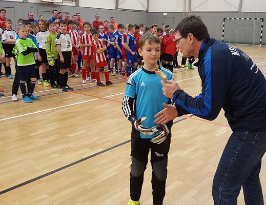 Bester Torwart: Malte Hinrichs, SV Seehausen