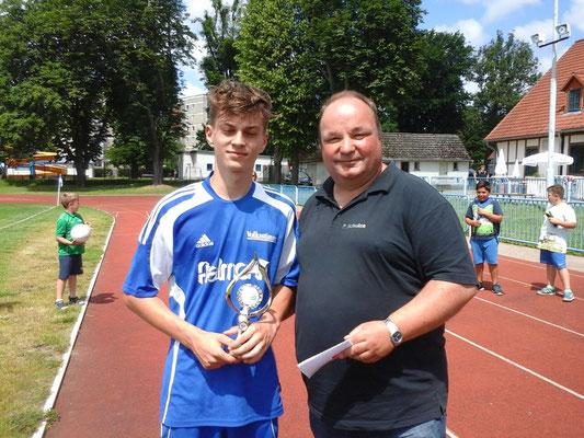 C-Jugend St 2: Lucas Julian Schmidt, BW Wanzleben, 22 Tore