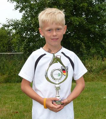 F-Jugend Bördeklasse: Louis Neumann, FSV Barleben, 19 Tore