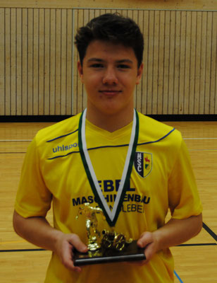 Bester Torschütze: Patrick Hauer (7 Tore, HSC)
