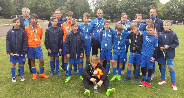 Vizekreispokalsieger D-Jugend: OSC
