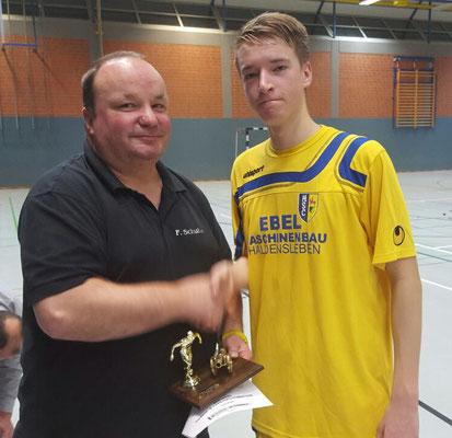 Bester Torschütze: Maximilian Wiklinski (HSC)