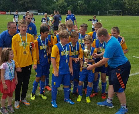 D-Jugend Pokalsieger:  Ausleben