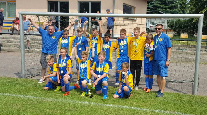 D-Jugend Pokalsieger:  SV Blau-Gelb Ausleben