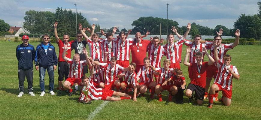 A-Jugend Pokalsieger: JSG Irxleben/Niederndodeleben
