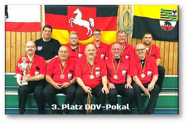 3. Platz DDV-Pokal 2016