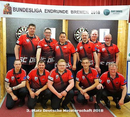 3. Platz Deutsche Meisterschaft 2018