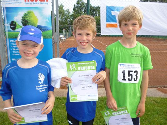 Sieger männlich Kinderlauf
