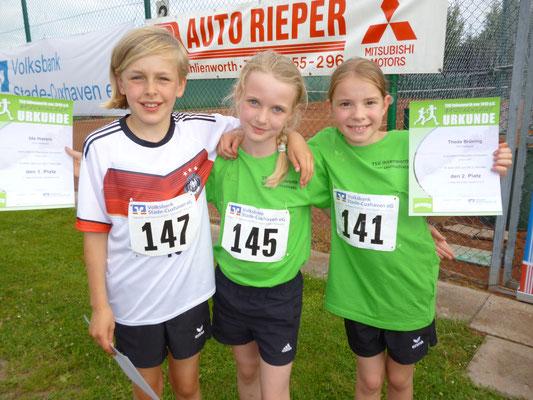Sieger weiblich Kinderlauf