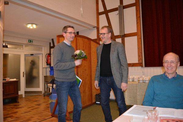 Der neue Vorsitzende Gerd Küver