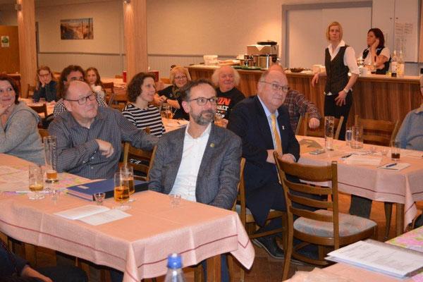 Unter den Zuschauern war auch der Vorsitzende des KSB Cuxhaven E. Stolze