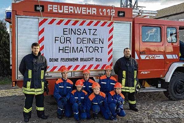 Je früher, desto besser: Die Feuerwehr Goldbeck wirbt für Nachwuchs. Das wird nicht das letzte Mal gewesen sein.