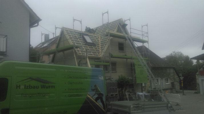 neu gedämmtes Dach mit einem U-Wert von 0,12 W/(m2K)
