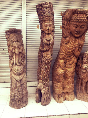 Bali Reise, my happy Buddha, über uns
