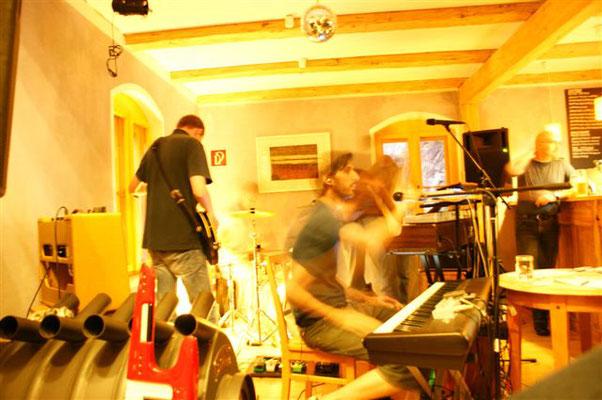 live at Bahnwärterhäuschen in Tharandt, 2009