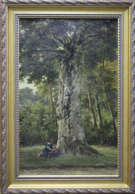 Barend Hendrik Koekkoek (1848-1909) | 3e Generatie Koekkoek | Taxatiewaarde: 5.500,= euro | MAAK EEN AFSPRAAK OF DOE EEN VRIJBLIJVEND BOD!