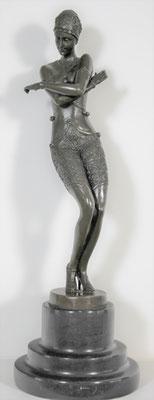 """Bronzen beeld """"Danseres""""   Van: 395,= euro   Nu te koop voor: 295,= euro"""